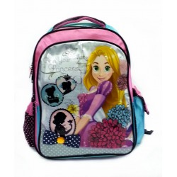 Disney Princess Rapunzel School Bag With Flashing Light Design