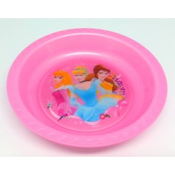 Disney Princess Pink 3D Lenticular Bowl
