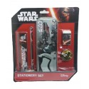 Disney Star Wars 5 In 1 Value Pencil Case & Stationery Set
