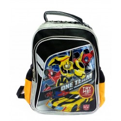 Transformers 12inch Kids Backpack With Flashing Light Design