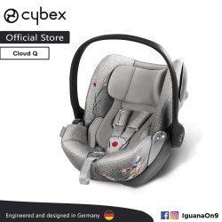 Cybex Platinum Cloud Q Reclining Backrest Infant Car Seat (Koi) - Cybex Malaysia Official Store'