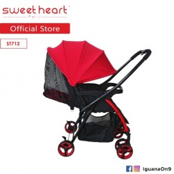 Sweet Heart Paris Compact ST712 Lightweight Stroller with Reversible Handlebar