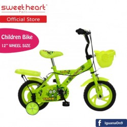 Sweet Heart Paris CB1201 TANK Children Bicycle (New Yellow) For Children Age 2 To 4 Years