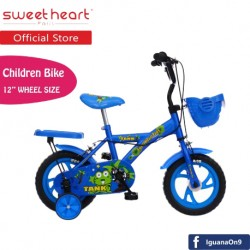 Sweet Heart Paris CB1201 TANK Children Bicycle (New Design Blue) For Children Age 2 To 4 Years\''