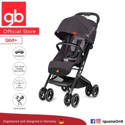 gb QBIT Stroller (Silver Fox Grey) - The Luxury Traveller (gb Malaysia Official)\''