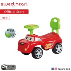Sweet Heart Paris TL618 Activity Music Ride on Car\''