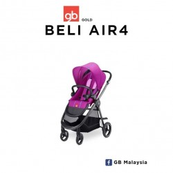 GB BELI AIR4 (Posh Pink) - LIGHT CITY STROLLER (gb Malaysia Official)'