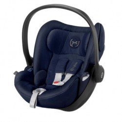 'CYBEX Platinum CLOUD Q Reclining Backrest Infant Car Seat (MIDNIGHT BLUE) - Cybex Malaysia Official Store'