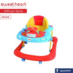 'Sweet Heart Paris De Kids BW6968 Baby Walker (Blue)'