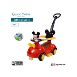 Iguana Online 3 in 1 Mickey Mouse Design Walker-Riding-Stroller Ride on Car TL011-RD