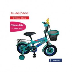 Sweet Heart Paris CB1201 C-MAX Children Bicycle (Green) Suitable from 2 to 5 years old\''