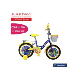 Sweet Heart Paris CB1601 G-MAX Children Bicycle (Yellow)
