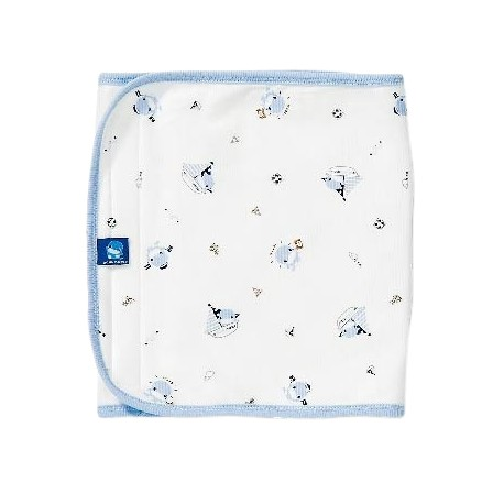 Kuku Duckbill Spring Receiving Blanket KU2144