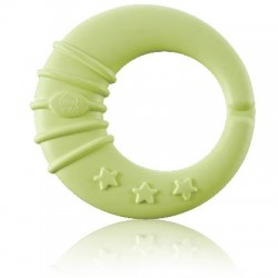 Kuku Duckbill KU5392 Moon Rattle Teether - 1 Stages Baby Teether