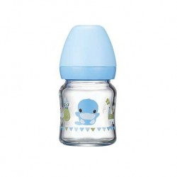 Kuku Duckbill KU5864 Borosilicate Glass Wide Neck Bottle 120ml