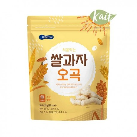 Bebecook Wise Mom Organic Rice Snack - 25g (12months)