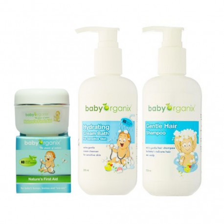 BabyOrganix Sensitive Trio Set Pack