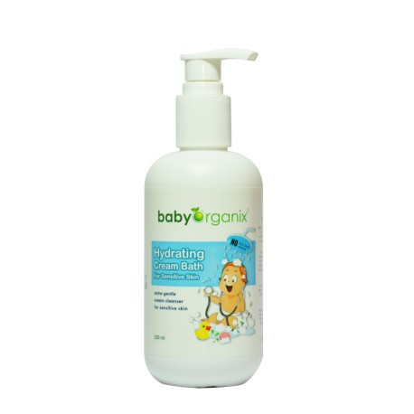 BabyOrganix Hydrating Cream Bath