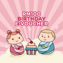 Motherhood RM 100 E-Gift Cards (Happy Birthday)