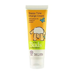 Buds Everyday Organics Nappy Time Change Cream 75ml