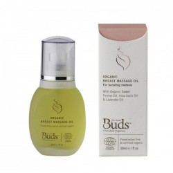 Buds Cherished Organics Organic Breast Massage Oil 30ml