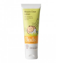Buds Everyday Organics Mozzie Clear Lotion 75ml