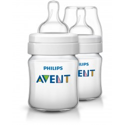 Philips Avent Classic + Feeding Bottle 4Oz/125Ml (Twin Pack)