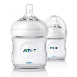 Philips Avent Natural Bottle (4oz / 125ml) - Twin Pack