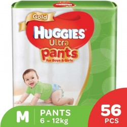 Huggies Ultra Pants Unisex M56 x 3 Super Jumbo Pack