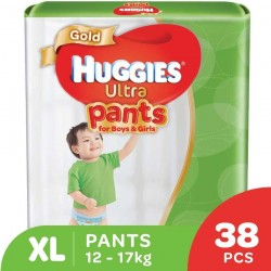 Huggies Ultra Pants Unisex XL38 x 3 Super Jumbo Pack