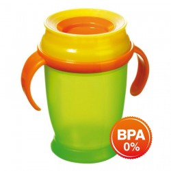 'Lovi 360 Cup WIth Handle (250ml) Junior - Green'