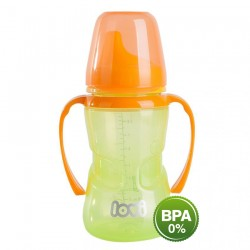 'Lovi 250 ml Non-Spill Firm Spout 12+Month-Green'