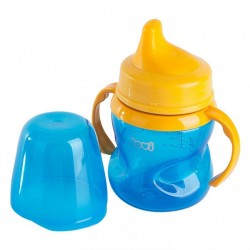 'Lovi 150 ml Non-Spill Soft Spout 6+Month-Blue'