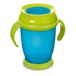 'Lovi 360 Cup With Handle (250ml) Junior - Blue'