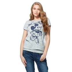 Mamaway Disney Call Me Mickey 2-Piece Nursing Tee (Blue)