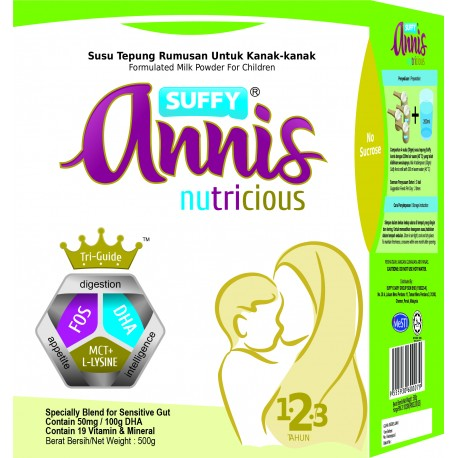 Suffy Annis Nutricious (1-3 years) 500g