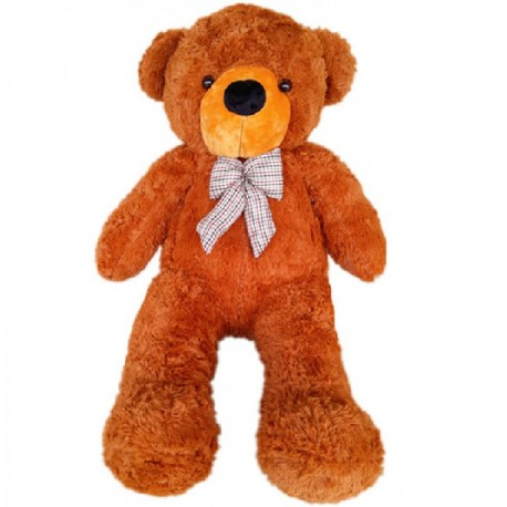 Maylee Big Plush Teddy Bear (L) 110cm Dark Brown