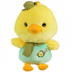 Maylee Cute Plush Chick 27cm (Green)