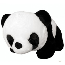 Maylee Cute Plush Panda 32cm (Black / White)