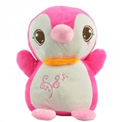 Maylee Cute Plush Penguin 25cm (Pink)