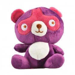 Maylee Cute Plush Squirrel 18cm Purple