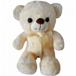 Maylee Sweet Plush Teddy Bear Peach 28cm