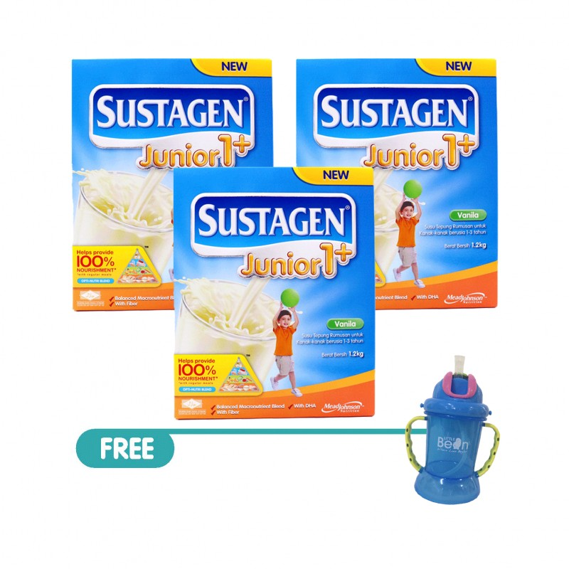 Sustagen Junior 1 Vanilla 1 2kg Bundle 3 X 1 2kg Food