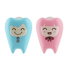 FLIPPER Toothbrush Holder ToothFairy 2in1/Std (Freckie & Gigi)