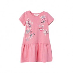 MioSunshine Pink Embroidery Dress