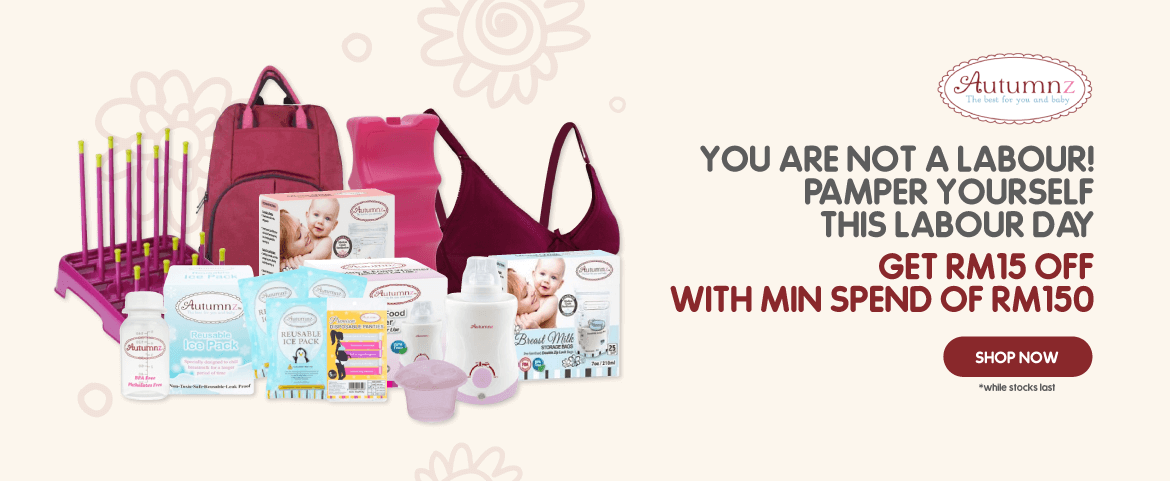 YOU ARE NOT A LABOUR! PAMPER YOURSELF THIS LABOUR DAY. GET RM15 OFF WITH MIN SPEND OF RM150