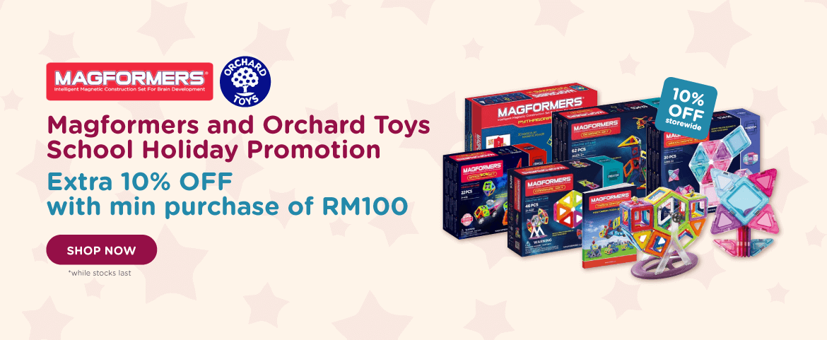 Magformers and Orchard Toys School Holiday Promotion