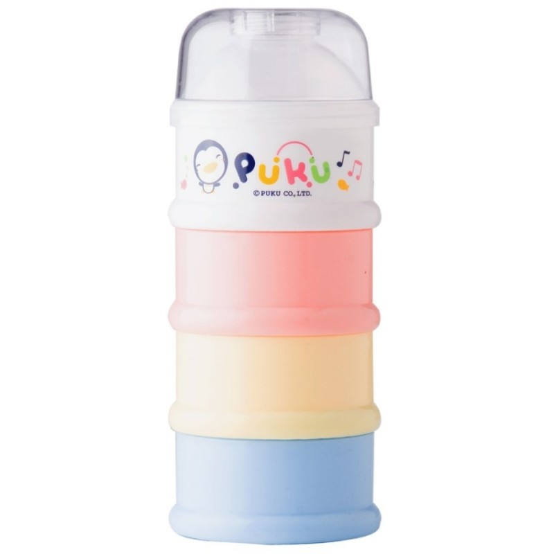 Puku 4 Layers Milk Powder Dispenser Formula Baby Infant Container Portable Box Case 100ml. Loading zoom
