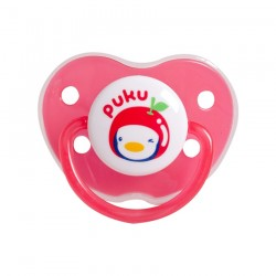Puku Baby Pacifier (6m+) - Red P10329-324
