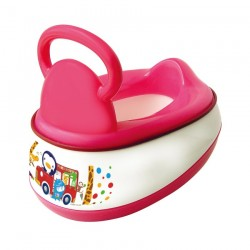 PUKU 5 In 1 Baby Potty Pink